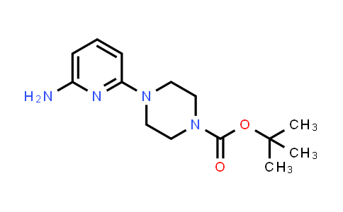 tert-Butyl 4-(6-aminopyridin-2-yl)piperazine-1-carboxylate