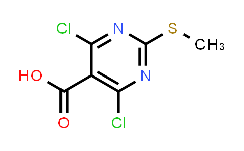 4,6-Dichloro-2-(Methylthio)pyriMidine-5-carboxylic acid