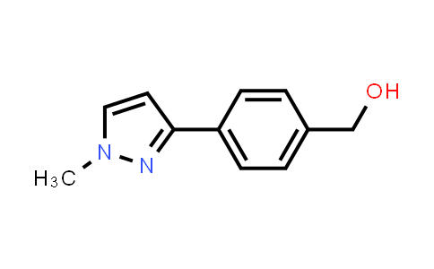 (4-(1-methyl-1H-pyrazol-3-yl)phenyl)methanol