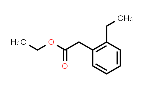 2-(2-ethylphenyl)acetic acid ethyl ester
