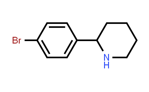 2-(4-bromophenyl)piperidine