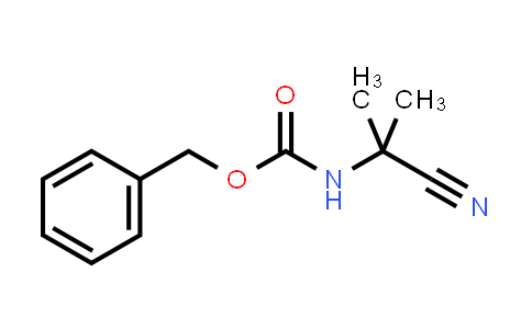 N-(2-cyanopropan-2-yl)carbamic acid (phenylmethyl) ester