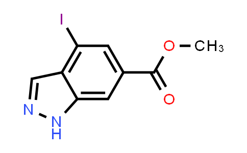 Methyl 4-iodo-1H-indazole-6-carboxylate