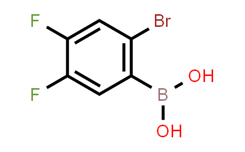 (2-Bromo-4,5-difluorophenyl)boronic acid