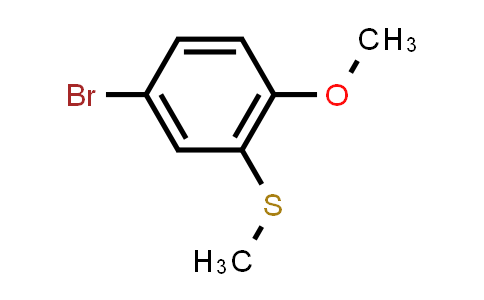 (5-bromo-2-methoxyphenyl)(methyl)sulfane