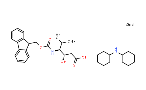 Dicyclohexylamine (3S,4S)-4-((((9H-fluoren-9-yl)methoxy)carbonyl)amino)-3-hydroxy-5-methylhexanoate