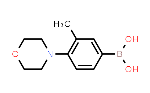 3-Methyl-4-morpholinophenylboronic Acid