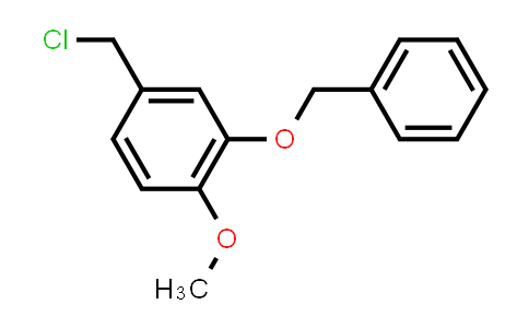4-(chloromethyl)-1-methoxy-2-phenylmethoxybenzene
