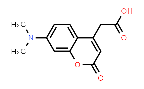 2-(7-(Dimethylamino)-2-oxo-2H-chromen-4-yl)acetic acid