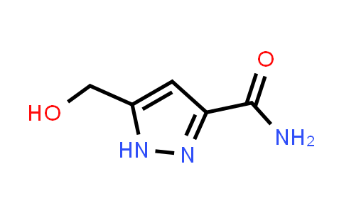 5-(hydroxymethyl)-1H-pyrazole-3-carboxamide