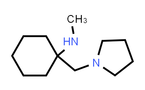 Methyl-(1-pyrrolidin-1-ylmethyl-cyclohexyl)-amine