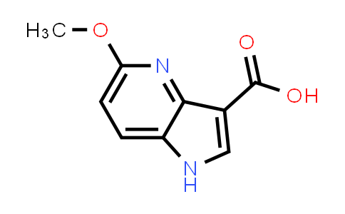 5-Methoxy-1H-pyrrolo[3,2-b]pyridine-3-carboxylic acid
