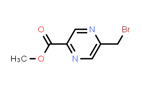 Methyl-5-(bromomethyl)pyrazine-2-carboxylate