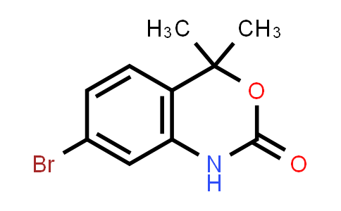 7-Bromo-4,4-dimethyl-1H-benzo[d][1,3]oxazin-2(4H)-one