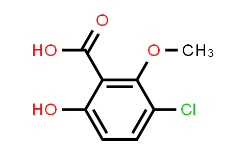3-Chloro-6-hydroxy-2-methoxybenzoic acid