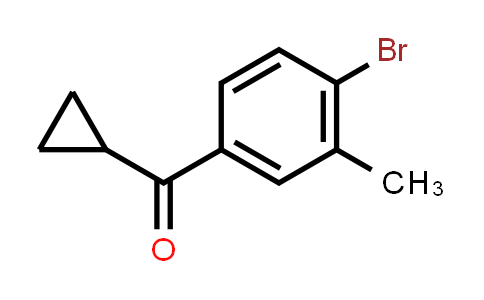 (4-Bromo-3-methylphenyl)(cyclopropyl)methanone