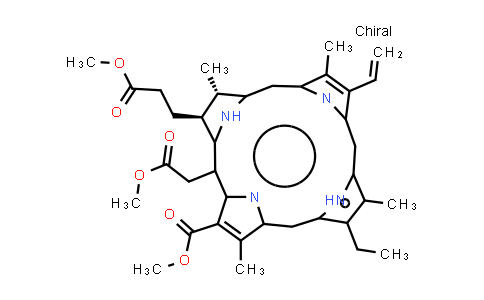 Chlorin e6 trimethyl ester